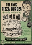 NYHC Pizza Burger Juin 2013